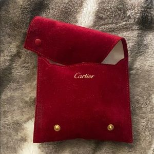 Cartier bracelet pouch